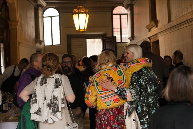 Eesti paviljoni avamine Veneetsia biennaalil