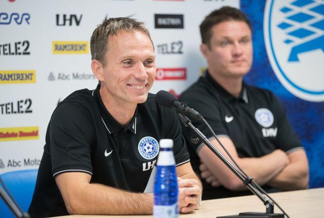 2b68aec8efa FOTOD: Eesti jalgpallikoondise uus peatreener Martin Reim: eesmärk on üles  leida rõõm ja sära