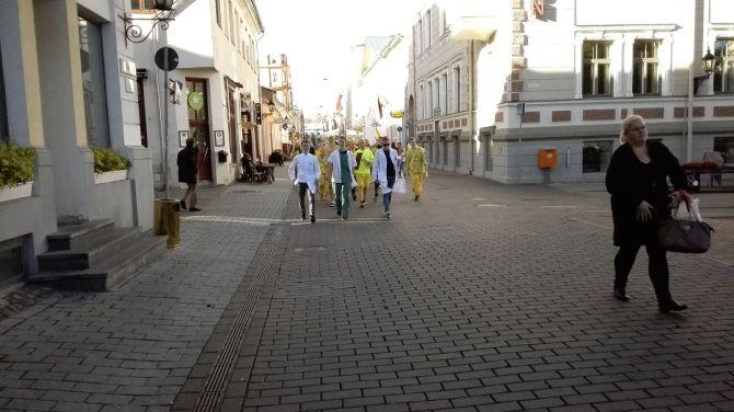 Rebased Tartu vanalinnas