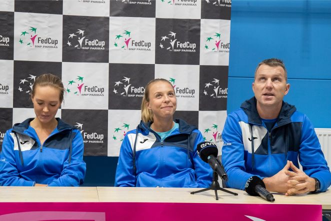 FED Cup pressikonverents 4.02.2020