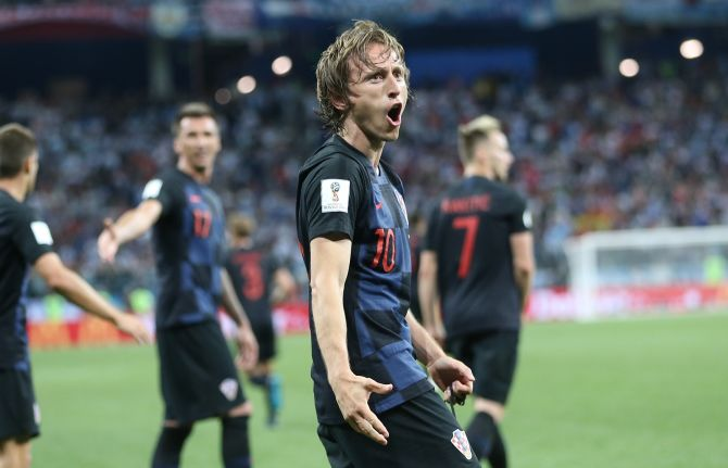 bed8afa5b41 FOTOD   Horvaatia lõi Argentina nokauti ja kindlustas koha ...