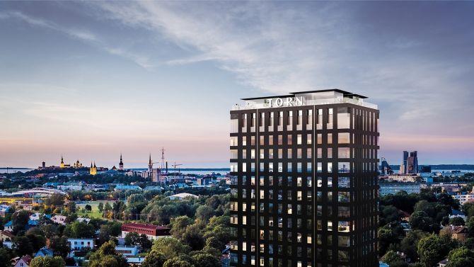 ab7af7d4f1f FOTOD   Tallinnas sai nurgakivi omapärane tornhoone, kuhu tuleb ka Eesti  kõige kallim luksuskorter - ärileht.ee