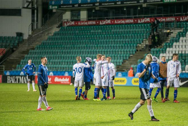 Jalgpall U21 Eesti vs Island