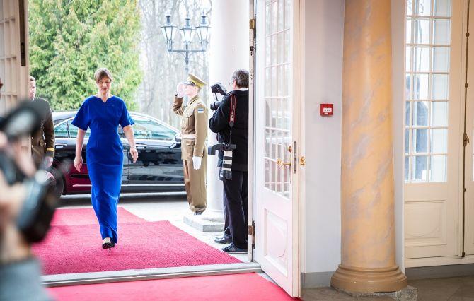 President Kaljulaidi ja Norra kroonprintsi pidulik õhtusöök