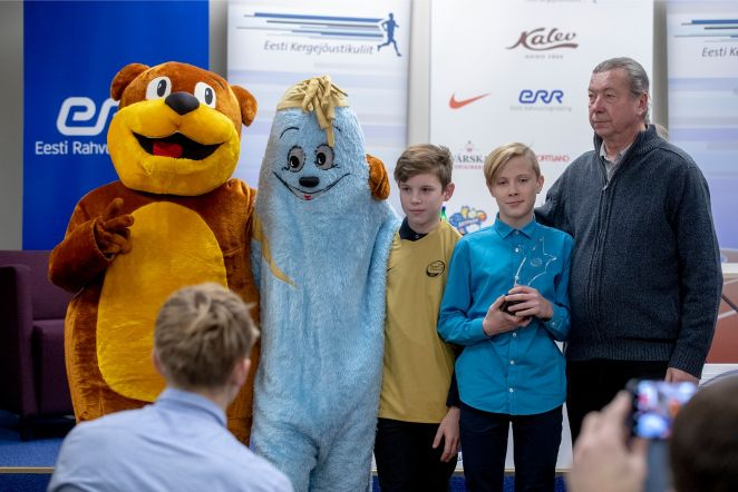 TV 10 olümpiastarti pressikonverents