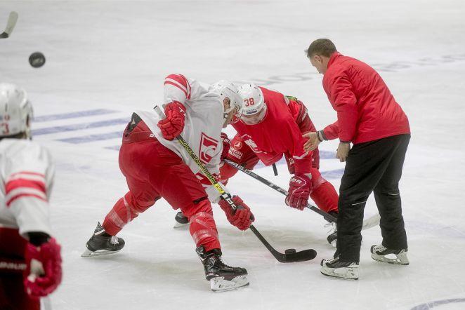 44916c8e3ed FOTOD | Jokerit ja Spartak tegid viimase treeningu enne õhtust KHL-i  lahingut