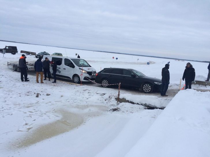 Haapsalu-Noarootsi jäätee sulgemine