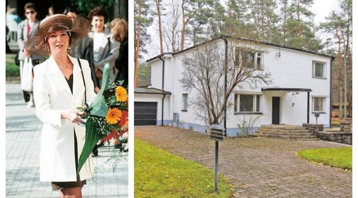 FOTOD   Maja Nõmme mändide all: ärinaine Mai Kaarepere paiskas kodu müüki!