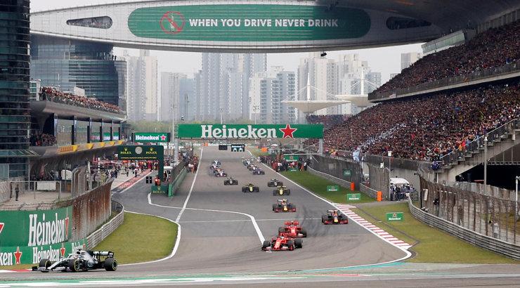 Vormel 1 Hiina GP korraldajad üritavad venelastega vahetuskaupa teha