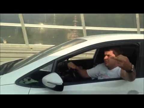 VIDEO: Üleolev sõidukijuht saab kohest karmat tunda