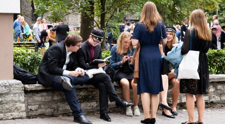 Tallinna üldhariduskoolides istub tänavu koolipinki üle 50 000 õppuri