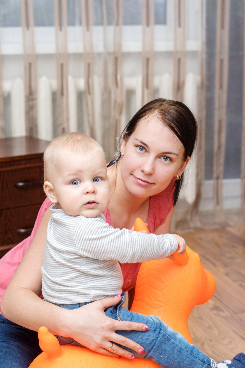 6b019af08fa Kärt on tänulik, et kiire arstiabi ja erakorraline keisrilõige päästsid  lapse hapnikupuudusest. Poeg Riko tuli turvaliselt ilmale. | Fotod: Eero  Alamaa