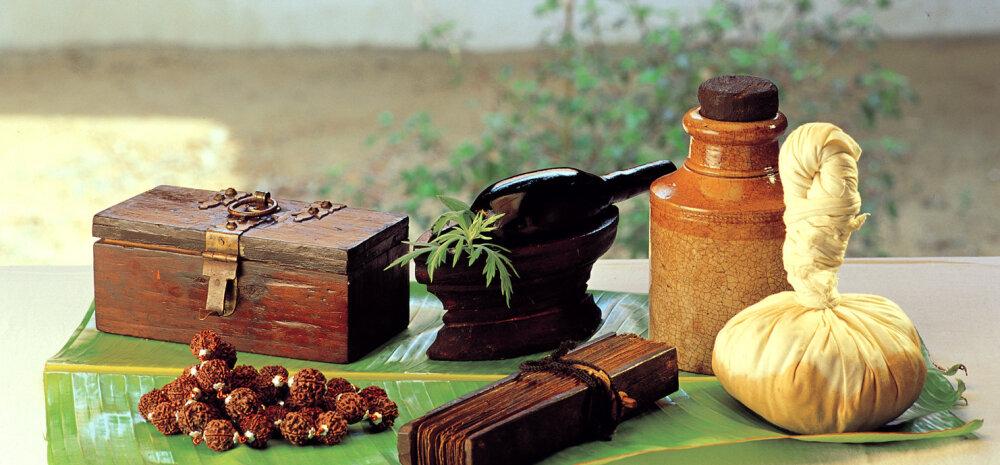 Ajurveeda ilu- ja tervisenipid: toitumine ja loodusteraapiad vastavalt kehatüübile