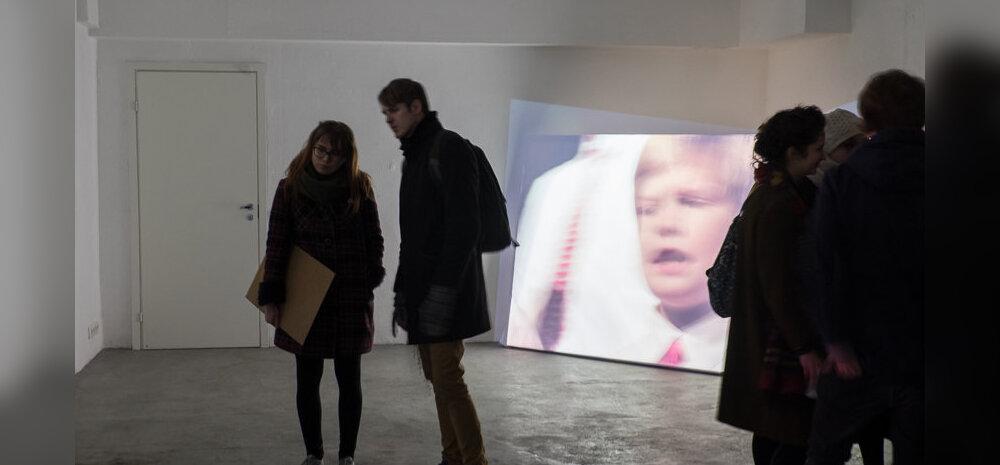 """EKA galerii näituse """"Loogiline laul"""" avamine."""