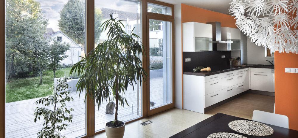 Aiaga ühendatud köök ehk kaval nipp ruumi avardamiseks