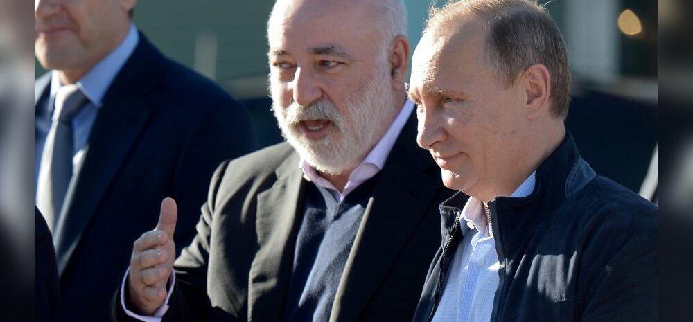 Putin ja Vekselberg jutuhoos.