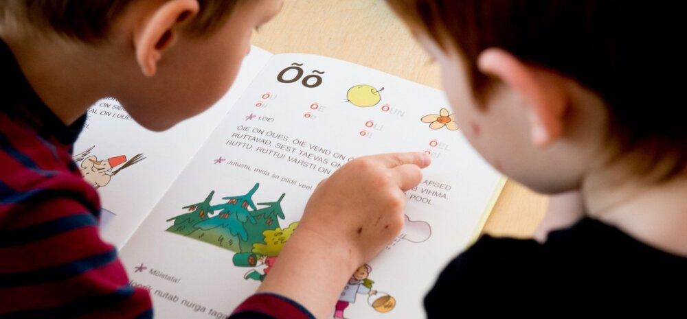 Lapsed õpivad tähti