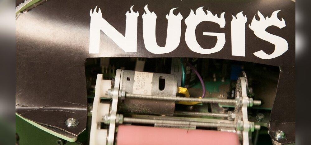 GRAAFILINE MAAILM: Robotexi staar robot Nugis