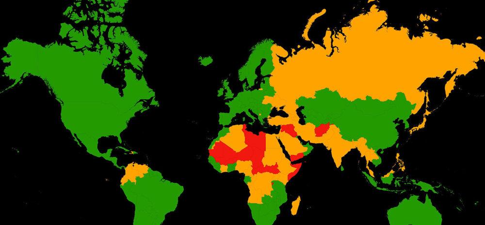 Maailma ohtlikuimad reisisihtkohad