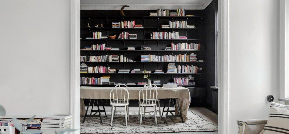 FOTOD | Musta ja valgega kujundatud võluvalt stiilne elamine