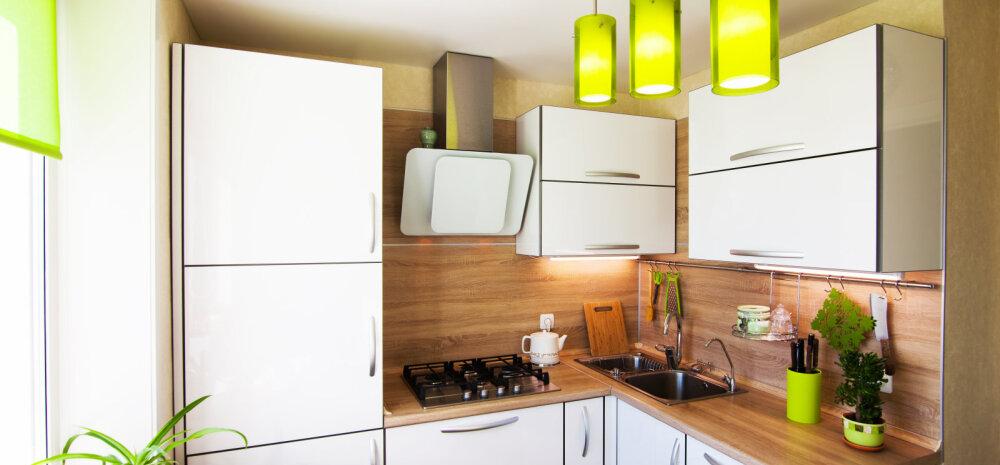 6 свежих дизайн-решений для маленькой кухни