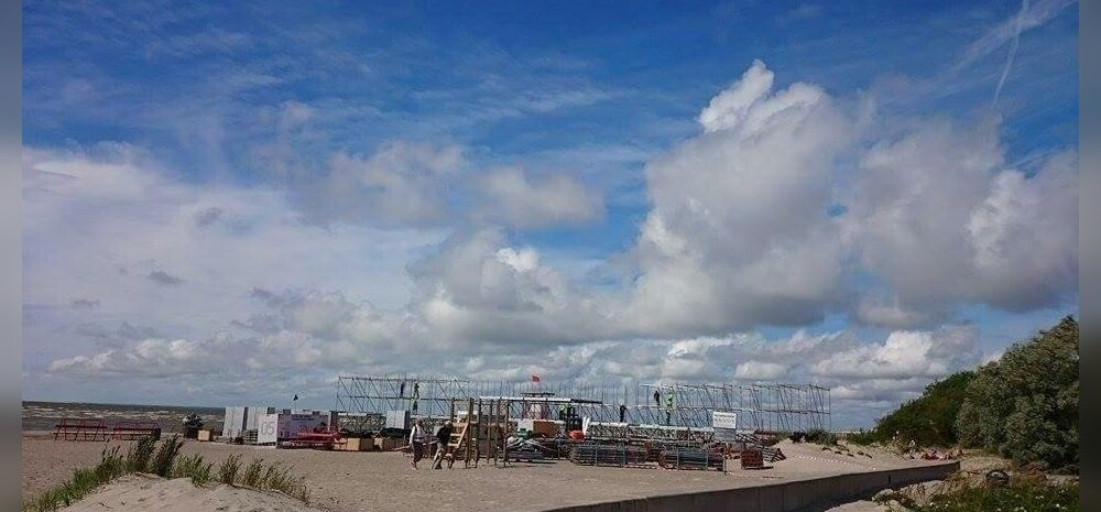 Weekend Festival Baltic ehitus