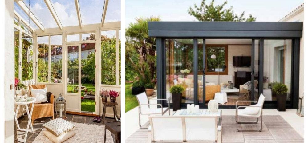 Hubane ja romantiline veranda — kuidas kujundada?