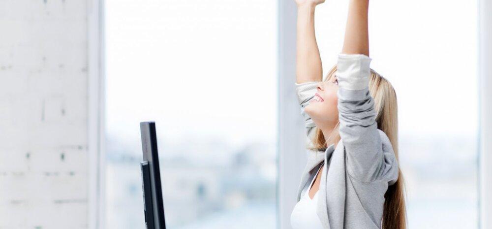 Kontoritöötaja ABC: lihtsad aju treenimise nipid, mida saad harrastada laua taga istudes