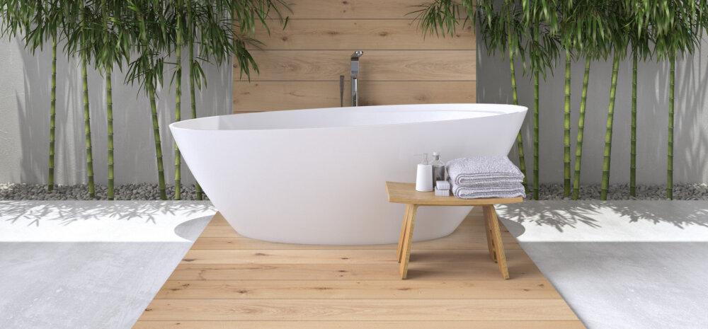 SUUR ÜLEVAADE   Milliseid värve, materjale ja mööblit soosib 2018. aasta vannitoas
