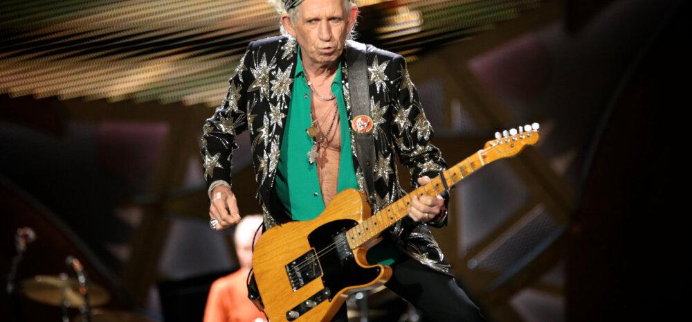 UUS KAUAMÄNGIV TULEKUL! Keith Richards on pärast 20-aastast pausi muusikalainel tagasi