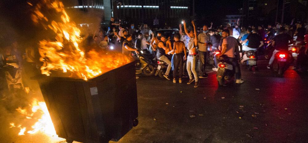 Hirm Liibanoni naela kokkuvarisemise ees tõi kaasa protestide eskalatsiooni