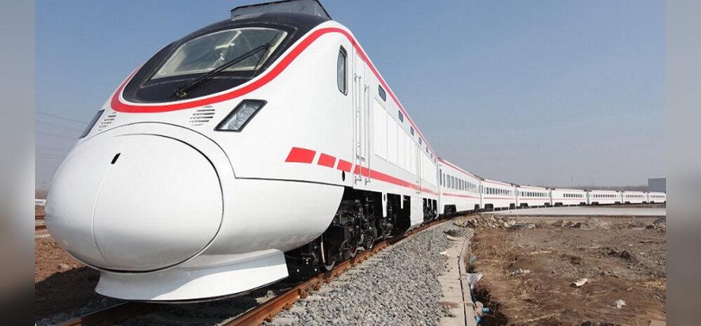 IRAAK: Riik püsib vaevu püsti, aga sellised rongid osteti nüüd Hiinast