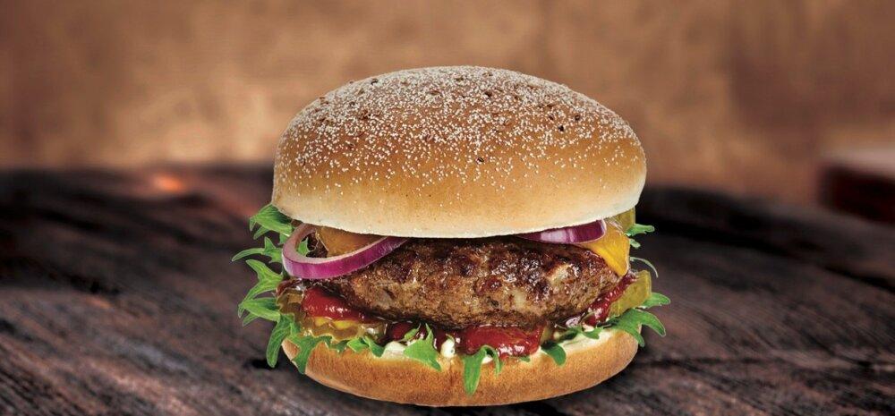 Statoil uuendas hamburgerite menüüd, lisandus lihavaba burger