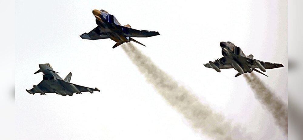 Õhuväe lennusõule saabub üheksast riigist ligi 30 lennuvahendit