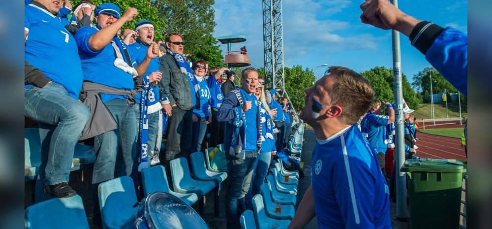 Eesti fännid Balti turniiril