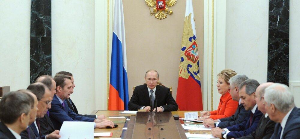 Putinit pole alates reedest avalikkuse ees nähtud, allikate väitel on hilisemad ilmumised varem salvestatud