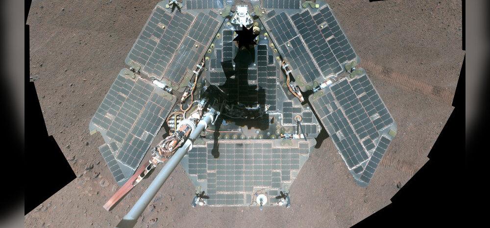 Läbitud 40 kilomeetrit: NASA marsikulgur püstitas rekordi