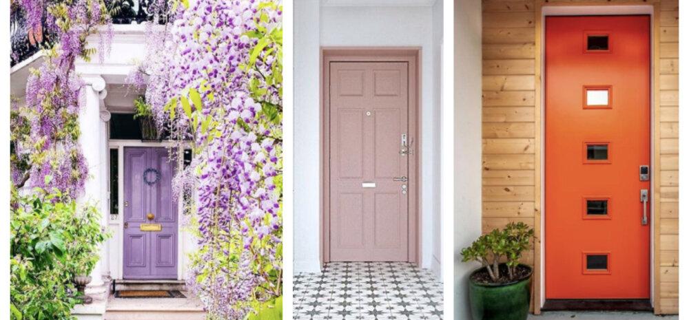 ФОТО │ Хотите быстро обновить облик дома или квартиры? Покрасьте входную дверь в яркий цвет!