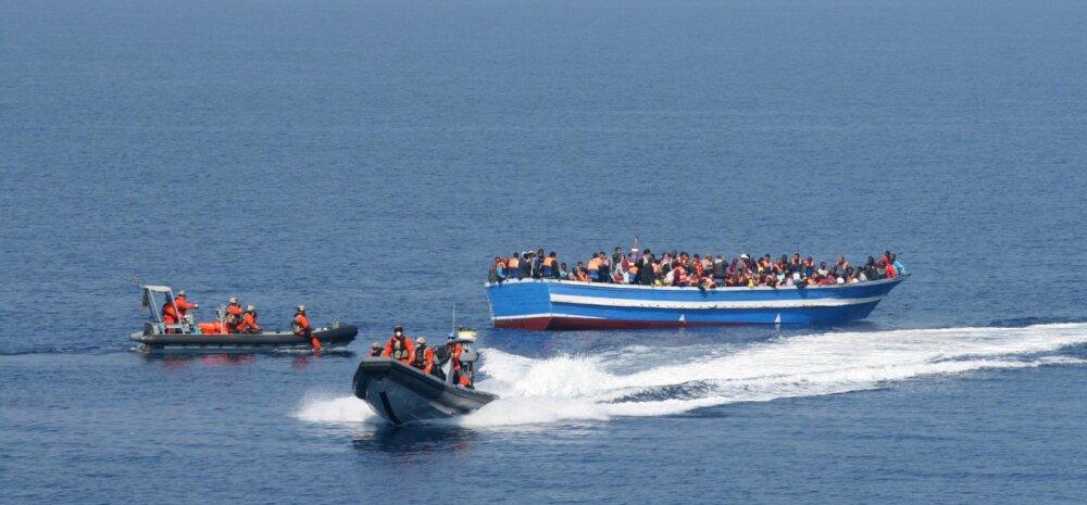 ELi on tänavu meritsi saabunud 135 000 migranti
