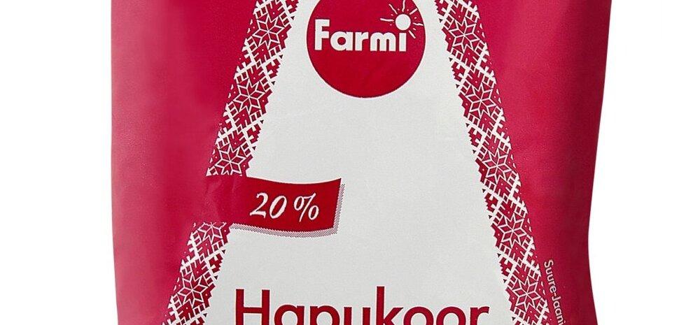 Farmi hapukoor_s