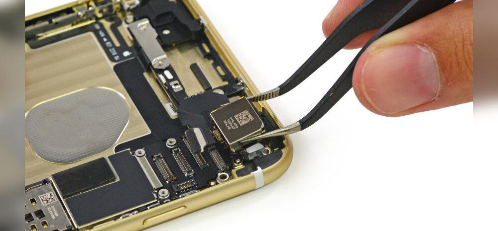 Tehnikamehed kangutasid uued iPhone'id koost lahti, et näha mis seal sees on