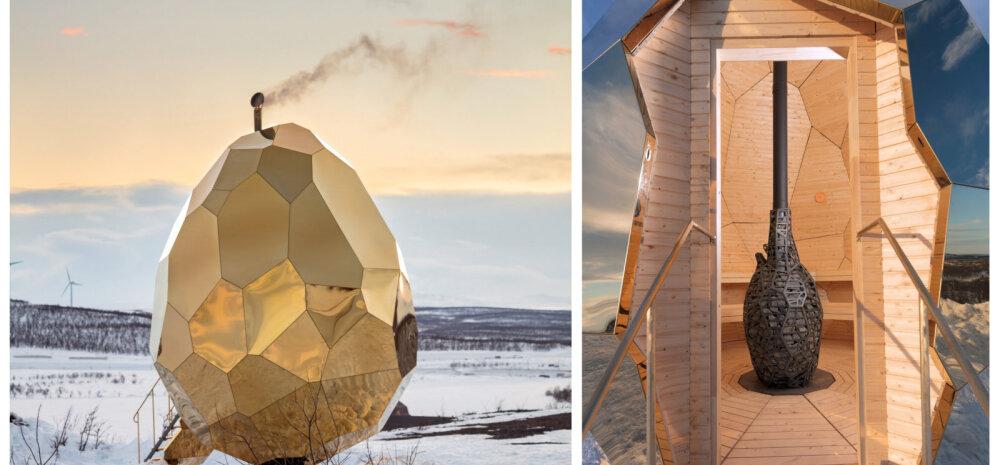 FOTOD JA VIDEO | Tulnukalaev? Ei, see on imepärase arhitektuuriga saun!