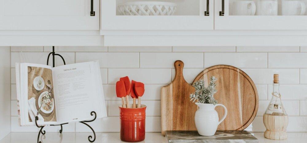 Väike köök – kuidas teha nii, et see oleks mahukas ja funktsionaalne