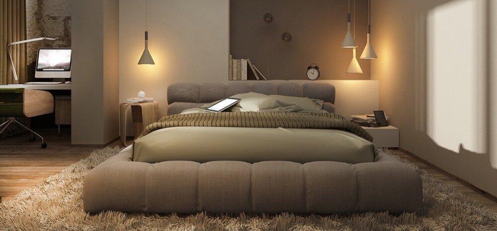 Ideid magamistoa valgustamisel