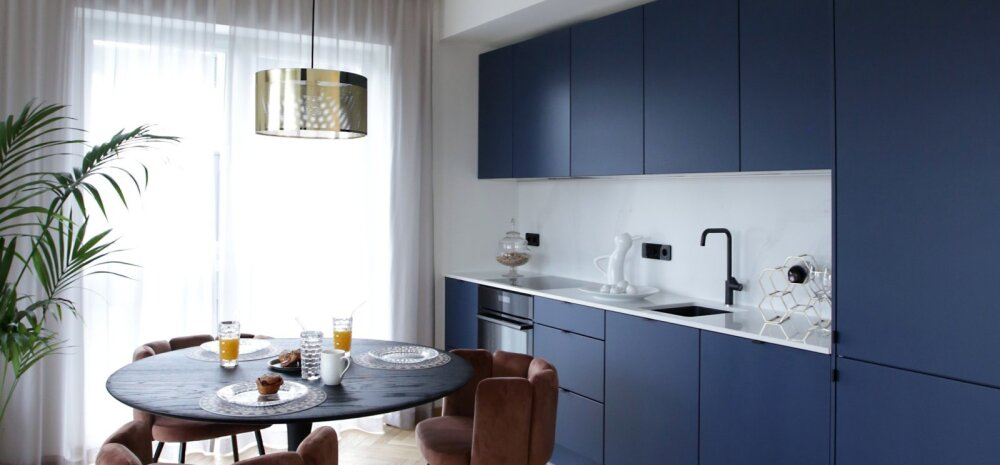 ФОТО | Эстонский дизайнер интерьеров показывает: как стильно обставить городскую квартиру