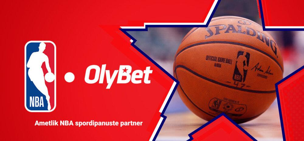 OlyBet on NBA ametlik spordiennustuse partner Eestis: vaata, kes on tänastes mängudes soosikud?