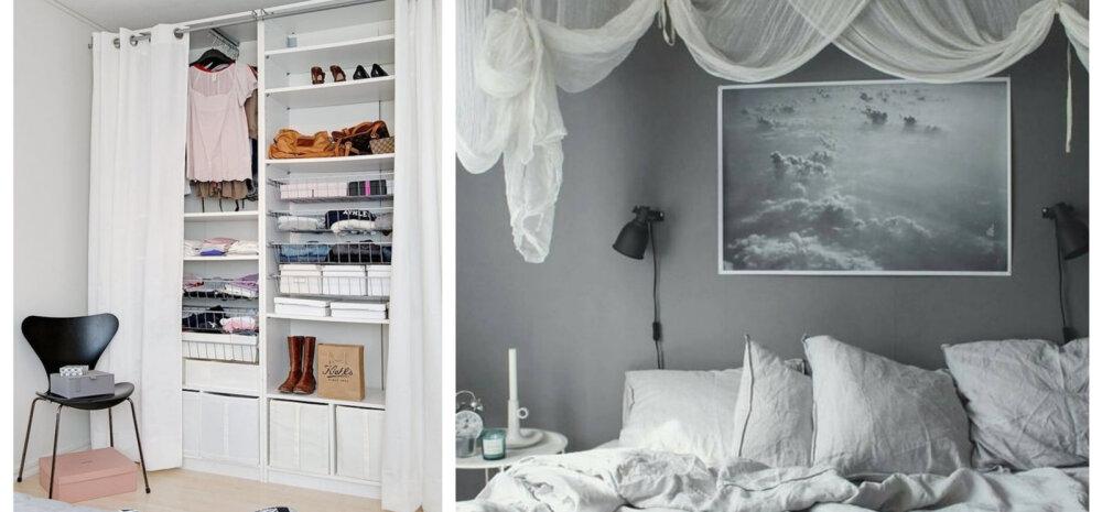 Kuidas värskendada magamistoa sisustust ilma suuremate kulutusteta?