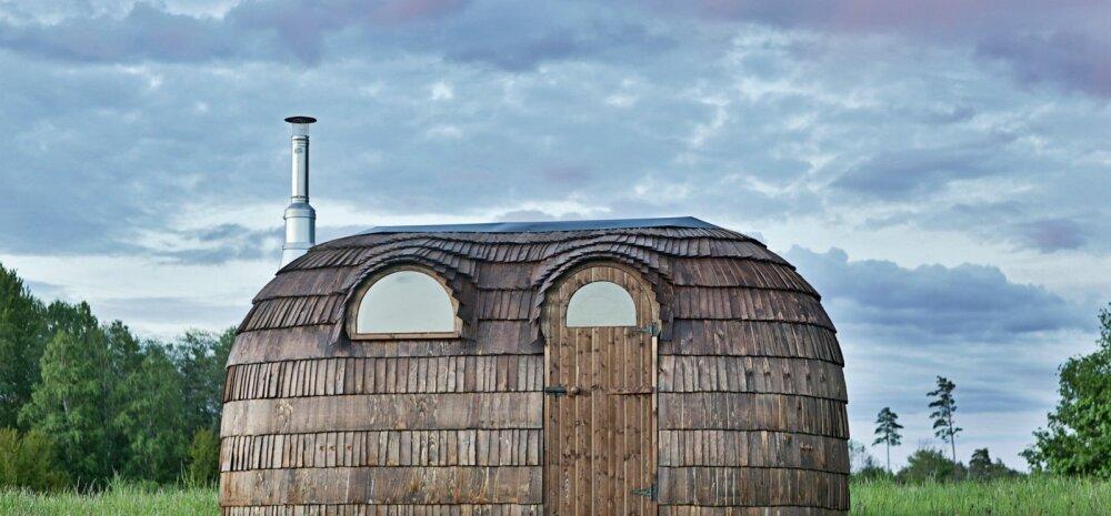 Сделанную для Гордона Рамзи сауну-иглу продают в Эстонии