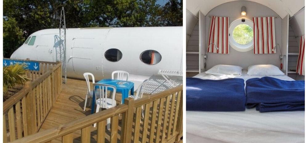 FOTOD | Lennuk pole ainult lendamiseks — sinna saab rajada ka kodu!