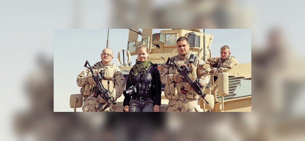 Девушка-режиссер сняла документальное кино о боевом братстве эстонских солдат в Афганистане